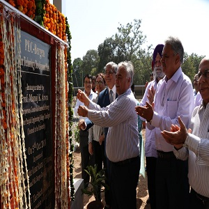 Inauguration of Solar Park at Punjab Engineering College, Chandigarh
