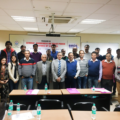 Workshop on General Awareness on Solar Power - BIRDS India